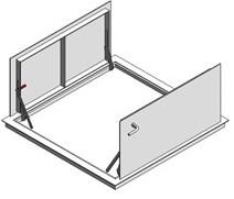 Bilco Non Drainage Doors Type KD Double Leaf - KD