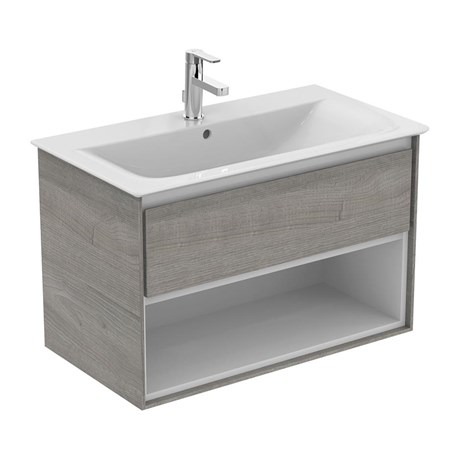 Concept Air Wall Hung Vanity Units - 1 Drawer and Open Shelf