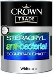 Steracryl Anti Bacterial Scrubbable Matt