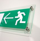 Fire Exit Sign - Non-illuminated & Wall Mounted