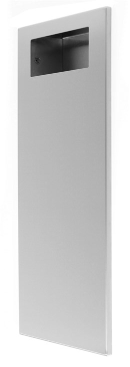 Slim Line Recessed 18 Litre Waste Bin