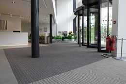 Entrance matting systems - Evergreen Debris Channel DC001