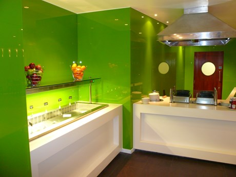 ColourX® Toughened Back Painted Interior Flat Glass - NS6