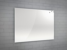MagnX-CF® - Concealed Fixing Back Painted Magnetic Interior Glass Dry Wipe Boards