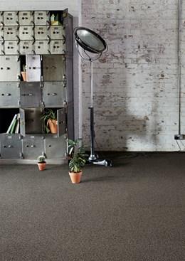 Concrete Mix - Broomed - Pile carpet tiles