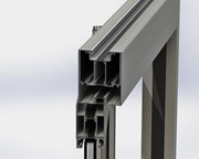 TD 68 Shop Front - single sliding door