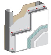 Rail Fixed External Wall Insulation System