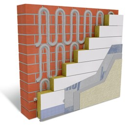Adhesive Fixed External Wall Insulation System - Warm Wall Plus