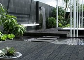 Carbonised Decking