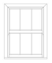 Evolve VS Three Light - Vertical sliding windows