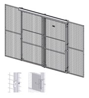 Caelum - Door Sliding Double - Double Rail