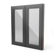 Square Standard Window - Side next to side