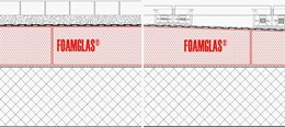 4.3.2 - Roof: Flat or Tapered Insulation (Cold Adhesive) with Membranes and Paving or Blocks
