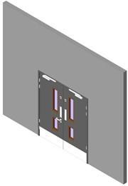 Heathcare Range: Store Cupboard Pair