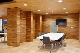 14 mm and 22 mm 2 strip hardwood flooring system