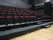 Retractable Seating with Integra Chairs and End Aisles