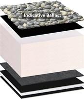 Bauder Bakor Hot Melt Inverted Roof System - Hot Applied