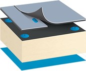 Bauder Thermoplan FPO Warm Roof System - Mechanically Fixed
