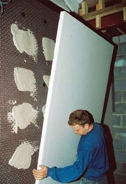 DELTA® Plaster Lath - Damp proof lathing