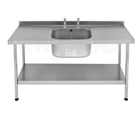 Catering Sink - Midi (Double Drainer)
