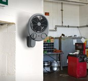 Remote Compact Commercial Fan Heater - PFH