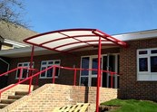 Whiteside Wall Mounted Canopy