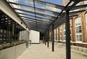 Kensington Dual Pitch Free Standing Canopy