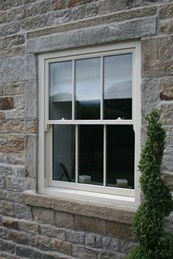 Timber Sash Window – Lead Weighted