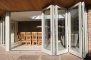 Timber Bi-Fold Door