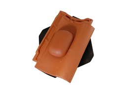 4.5k Thruvent Cathedral Clay Pantile- Vent tile