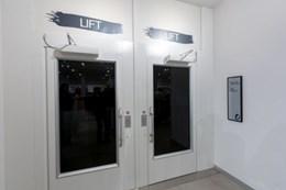 Artico 9000 Cabin Lift, Adjacent Car Entry and Exit Doors