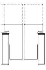 GlasStile S - 1800 mm Height