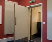 SilentDoor - LH Active FD30's Double - Glazed
