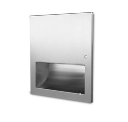 Recessed High Speed Hand Dryer - 1kW Stainless Steel - 02.4011