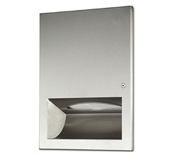 Recessed Stainless Steel Paper Towel Dispenser - 09.3004