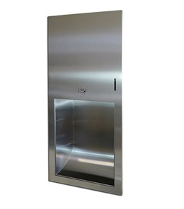 Recessed Automatic Paper Towel Dispenser - Stainless Steel - 09.3007