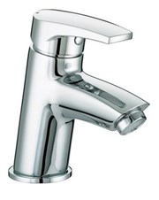 OR BAS C - Orta Basin Mixer with Clicker Waste Chrome