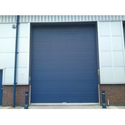 Industrial overhead sectional door - S Door - Vertical Track