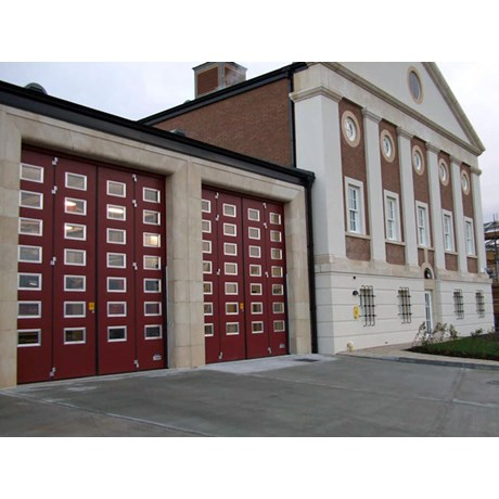Bi Folding Industrial Door - Q Door