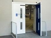 Fire Resistant Steel Door - Armourdoor - FD01 Double