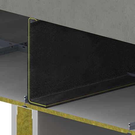 SIDERISE FLX Flexible Acoustic Barriers for Suspended Ceilings (formerly Lamaphon FLX)