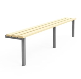Cloakroom/Changing room Bench - R1