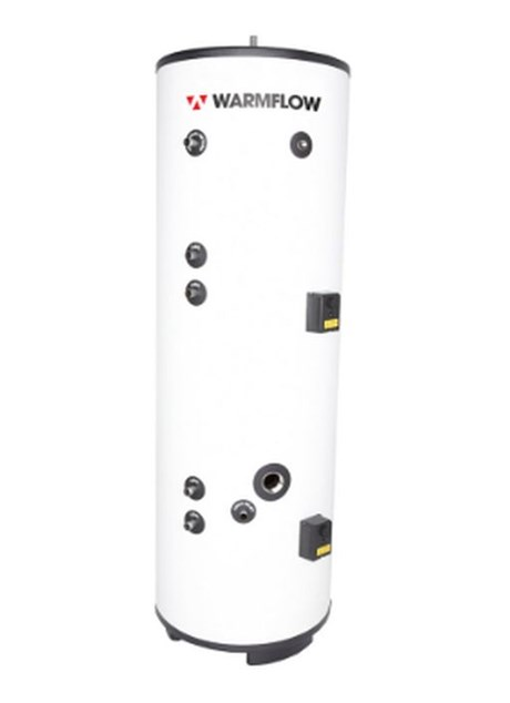 Warmflow Twin Coil Unvented SS Hot Water Cylinder