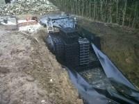 Visqueen Urban Drainage Geomembrane
