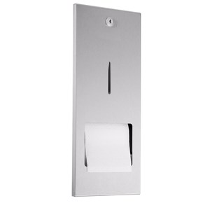 WP167R Dolphin Prestige Recessed Toilet Paper Dispenser