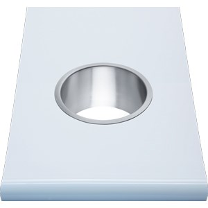 WP159 Dolphin Prestige Counter Mounted Bin Ring