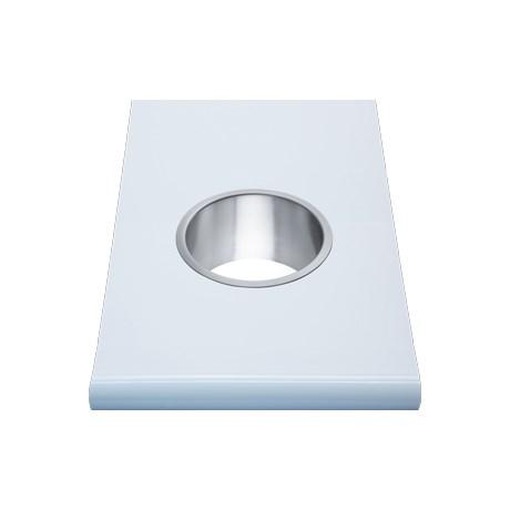 WP159 Dolphin Prestige Counter Mounted Bin Ring