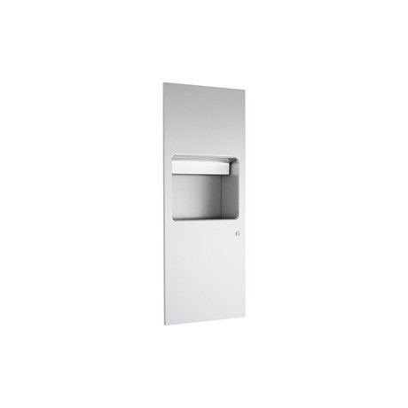WP612 Dolphin Prestige Paper Towel Dispenser and Waste Bin Combination Unit