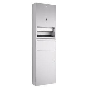 WP545 Dolphin Prestige Paper Towel Dispenser Waste Bin Combination Unit