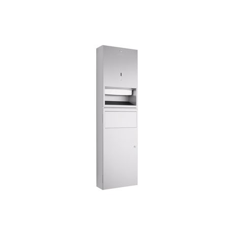 WP545 Dolphin Prestige Paper Towel Dispenser Waste Bin Combination Unit